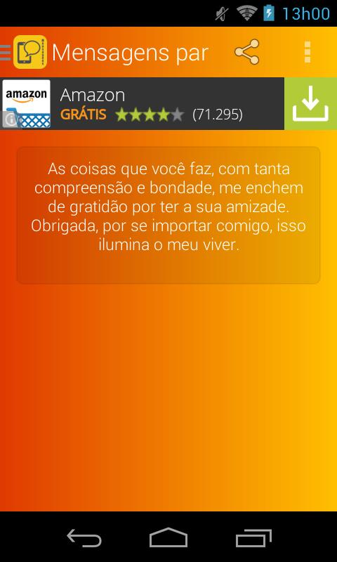 Mensagens para Celular - screenshot