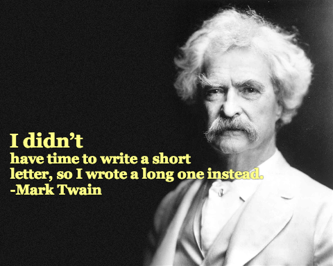 That's What He Said: Quoting Mark Twain