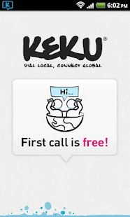 KeKu Cheap International Calls- screenshot thumbnail