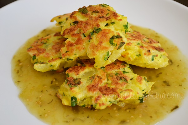 tortitas de papa/Potato Cakes