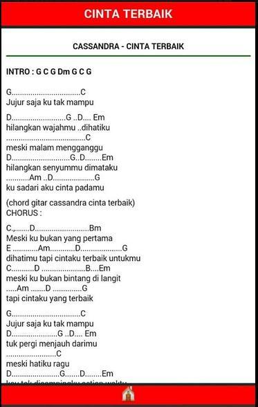 Kunci gitar lagu indonesia yang mudah dimainkan