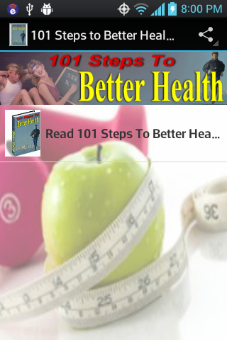 101 Steps to a Better Health