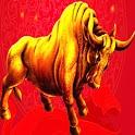 3D Bull logo
