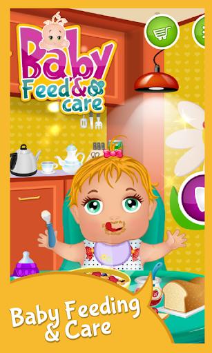 嬰兒飼料和嬰兒護理