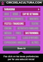 Screenshot of Circ de la Cultura