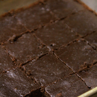 Flourless Black Bean Brownies