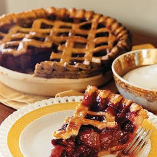 Pear-Cranberry Pie with Faux Lattice Recipe