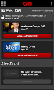CNN App for Android Phones - screenshot thumbnail