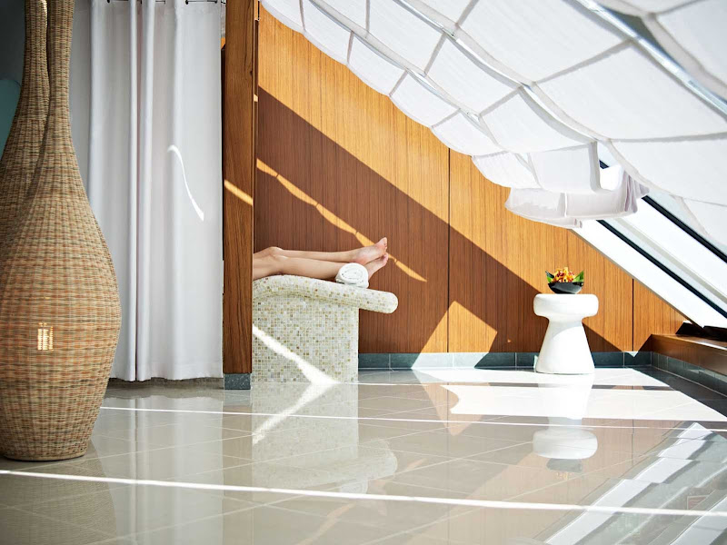 You'll enjoy the privacy and serenity of the Canyon Ranch SpaClub during your Oceania cruise.