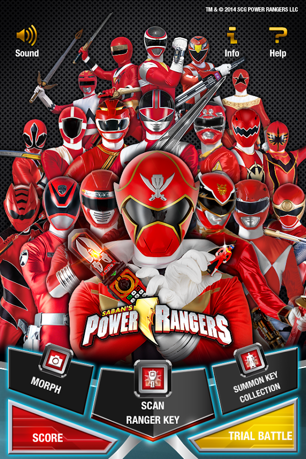 POWER RANGERS KEY SCANNER  Android Apps on Google Play