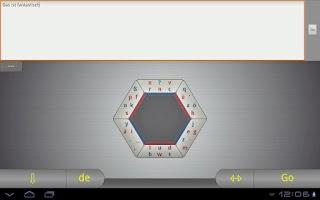 Screenshot of Hexogen keyboard