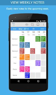 Class Planner for teachers - náhled