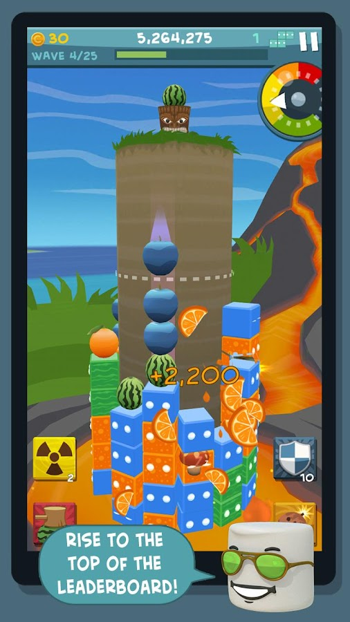 Rise of the Blobs- screenshot