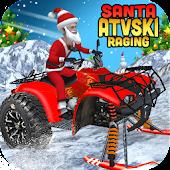 Santa ATV Ski Raging