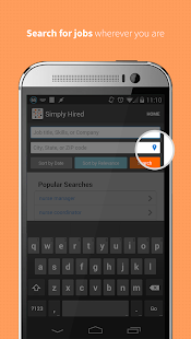 Job Search - Simply Hired- screenshot thumbnail