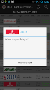 MEA Flight Information English - screenshot thumbnail
