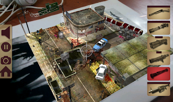Screenshot of TableZombies Augmented Reality