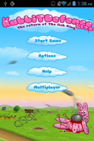 Rabbits defence Games