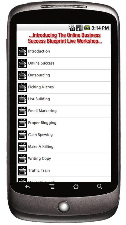 Online Success Blueprint LIVE- screenshot