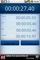 Screenshot of Time! Lap Timer