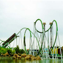 Virtual Roller Coaster Hulk logo