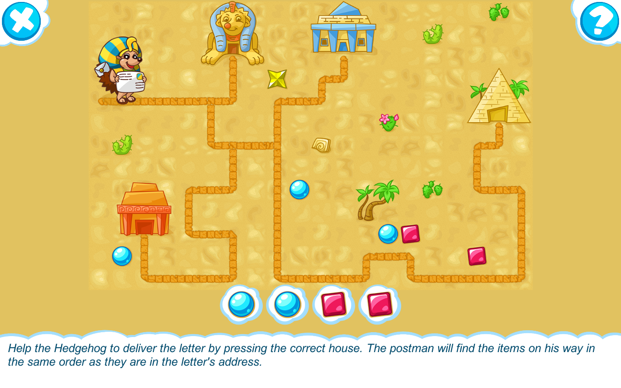 Logic for kids 3-7 years old- screenshot