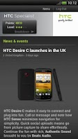 Screenshot of HTC Specialist