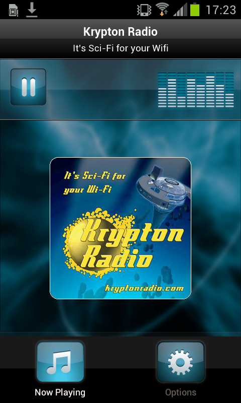 Krypton Radio- screenshot
