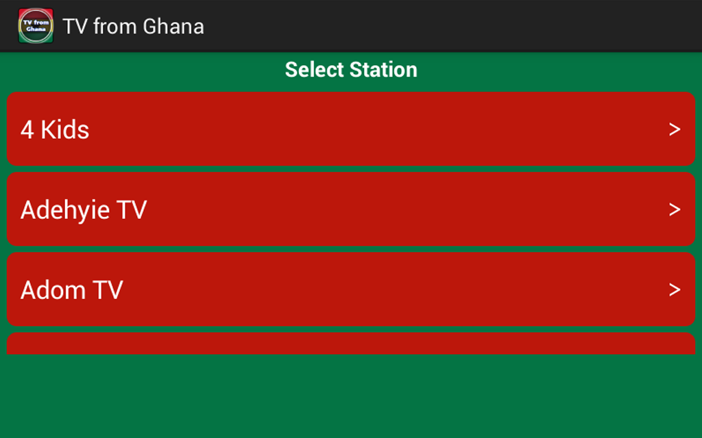 TV from Ghana - Android Apps on Google Play