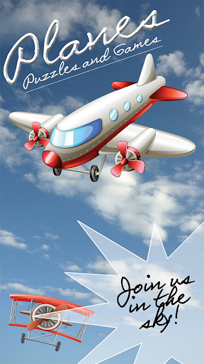 Airplane Puzzles and Fun Games