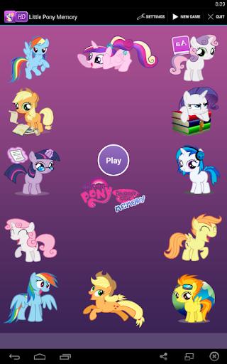 Little Pony Memory