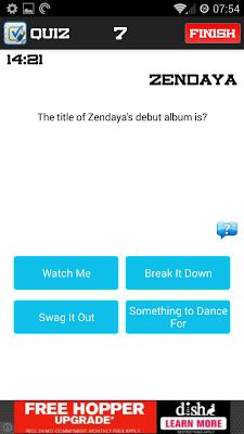 Zendaya Quiz - screenshot