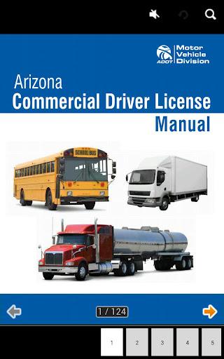 Arizona CDL manual