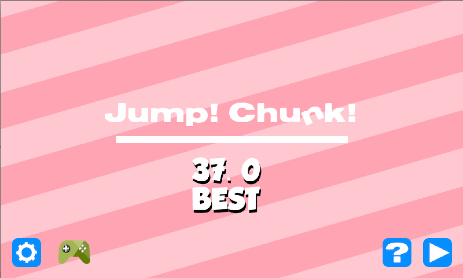 Jump! Chunk! - screenshot