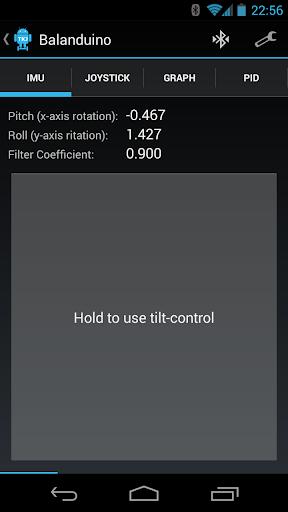 Balanduino Android App