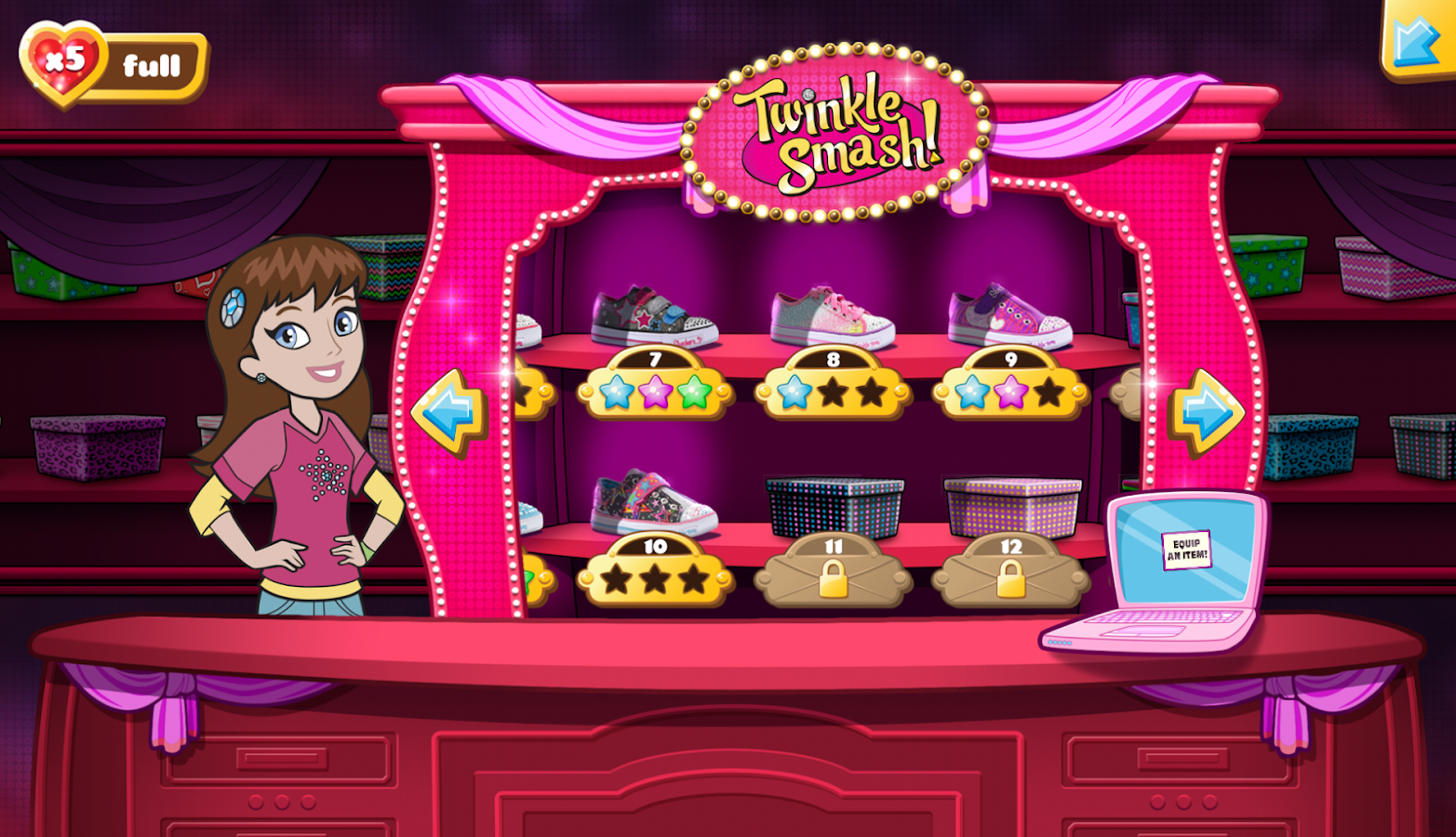 Twinkle Smash from SKECHERS - screenshot