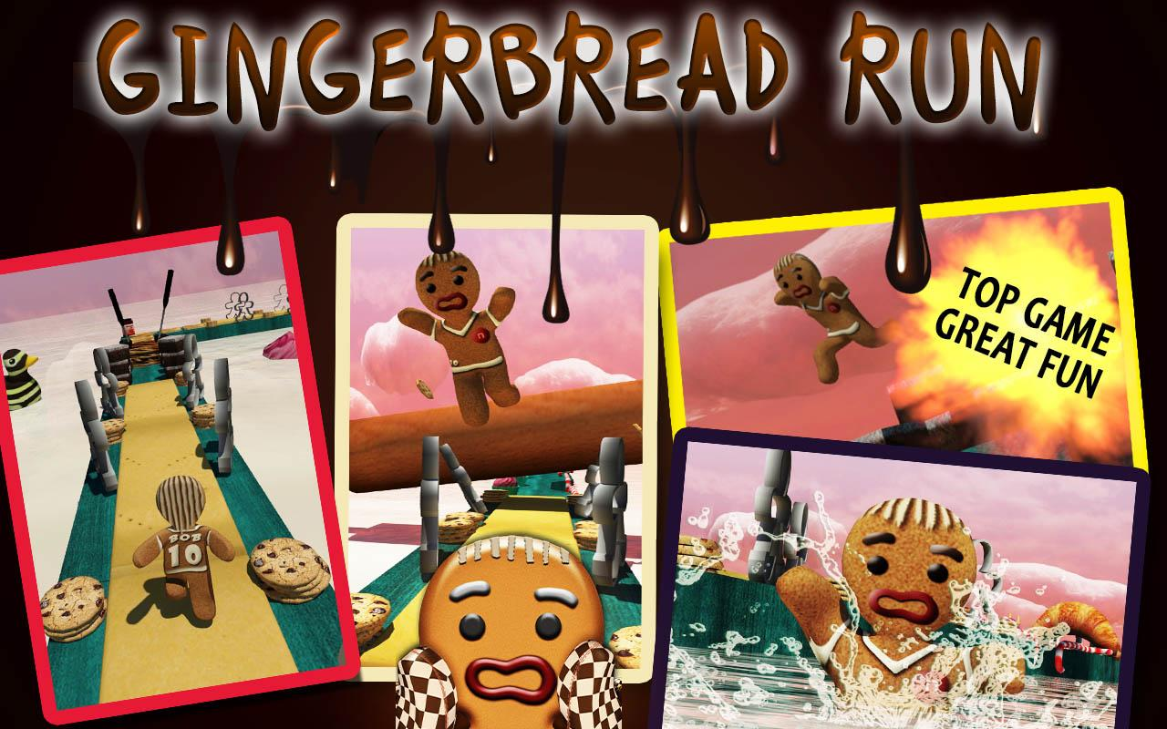 Gingerbread Run - screenshot