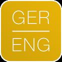 Dictionary German English icon
