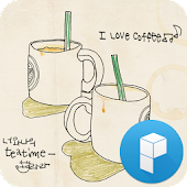 너와 나의 커피 타임 런처플래닛 테마