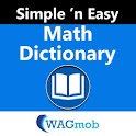 Math Dictionary by WAGmob icon