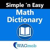 Math Dictionary by WAGmob