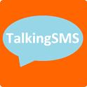 Talking SMS free icon