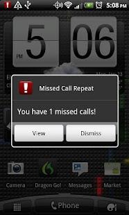 Missed Call Repeat