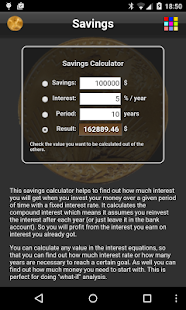 Savings- screenshot thumbnail