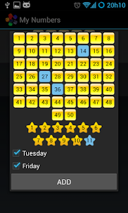 Euromillions Notifier - screenshot thumbnail