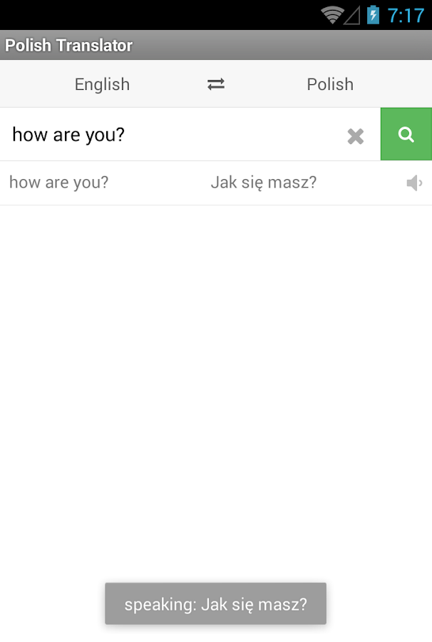 Polish Translator - screenshot