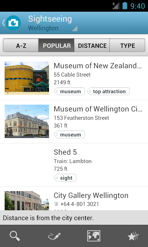 New Zealand Travel Guide - screenshot