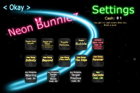 Neon Bunniez - screenshot thumbnail