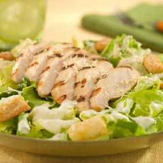 Grilled Chicken Caesar Salad.