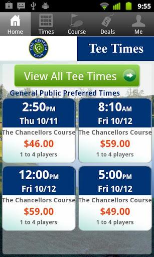 The Georgia Club Tee Times
